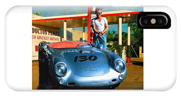 James Dean Filling His Spyder With Gas IPhone Case
