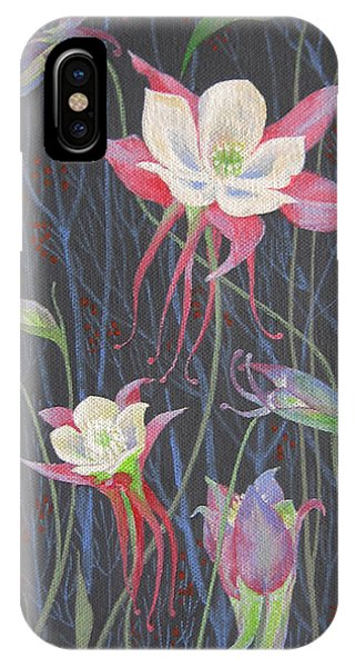 Japanese Flowers IPhone Case