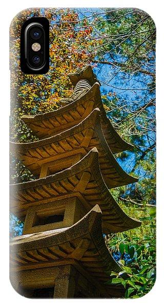 Asia iPhone Case - Japanese Shrine In The Garden by Sarit Sotangkur