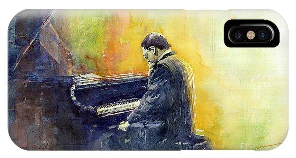 Portret iPhone Case - Jazz Herbie Hancock  by Yuriy Shevchuk
