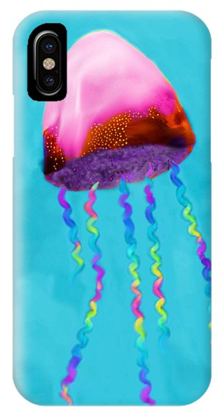 Jelly The Fish IPhone Case