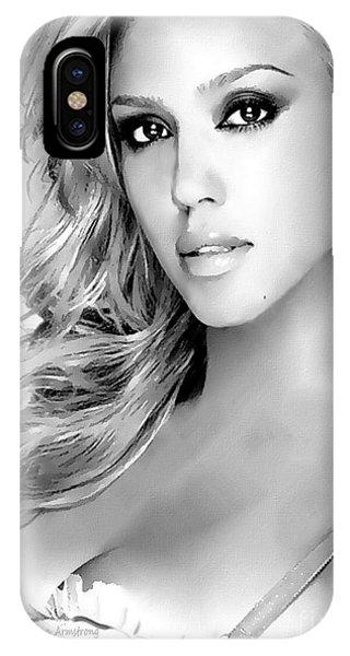 #1 Jessica Alba IPhone Case