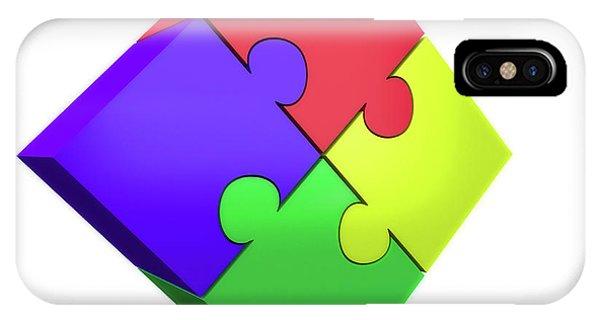 Jigsaw Puzzle Phone Case by Wladimir Bulgar