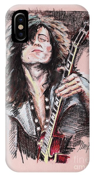 Jimmy Page 1 IPhone Case