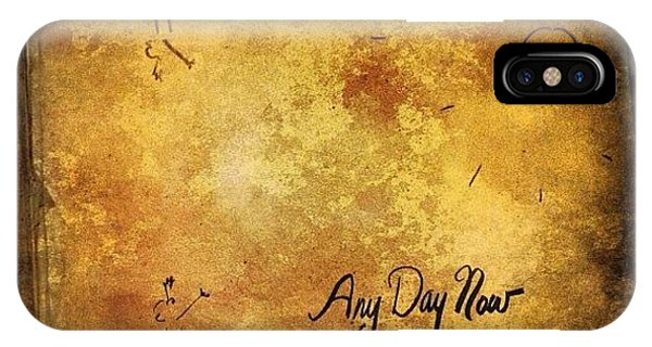Celebrity iPhone Case - Joan Baez any Day Now Lp by Natasha Marco