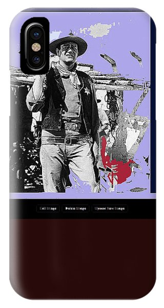 John Wayne Rio Bravo Publicity Photo 1959 Old Tucson Arizona IPhone Case