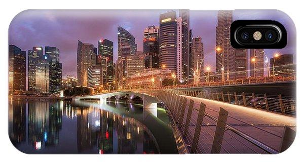Hotel iPhone Case - Jubilee Bridge by Richard Vandewalle