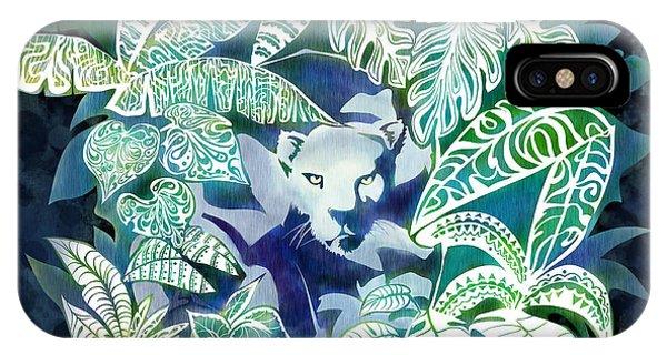 Leopard iPhone Case - Jungle Jaguar  by Sassan Filsoof