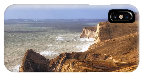 Dorset iPhone Case - Jurrasic Coast Dorset by Joana Kruse