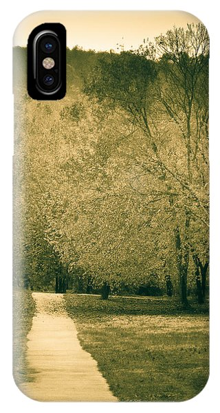 Just A Short Walk IPhone Case