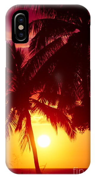 IPhone Case featuring the photograph Kamaole Nights by Sharon Mau