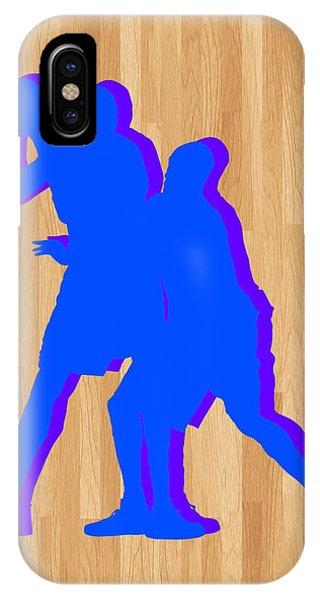 Kobe iPhone Case - Kevin Durant Kobe Bryant by Joe Hamilton