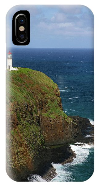 Archipelago iPhone Case - Kilauea Lighthouse Located On Kilauea by David R. Frazier