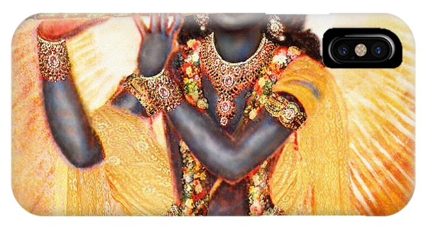 Krishna With The Flute IPhone Case