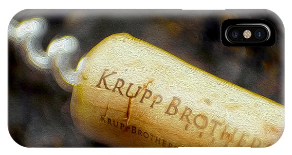 Bar iPhone Case - Krupp Cork by Jon Neidert