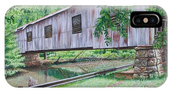 Kymulga Covered Bridge IPhone Case