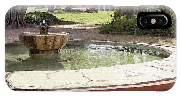 La Purisima Fountain IPhone Case