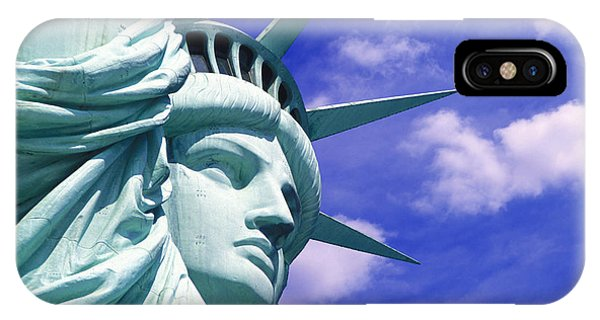 Statue Of Liberty iPhone Case - Lady Liberty by Jon Neidert