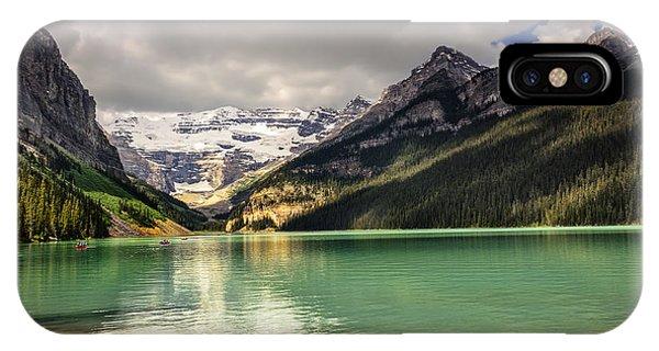 iPhone Case -  View Of Lake Louise by Viktor Birkus