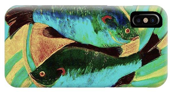 Lake Martin  Fish IPhone Case