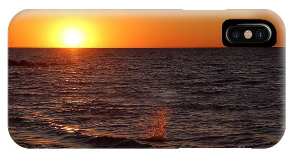 Lake Ontario Sunset IPhone Case
