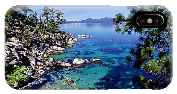 Lake Tahoe Swimming Hole IPhone Case