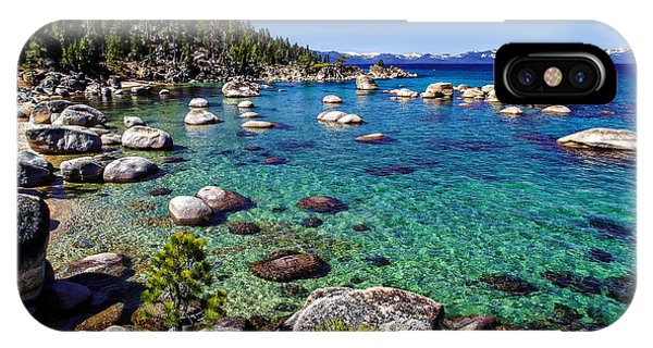 Peaceful iPhone Case - Lake Tahoe Waterscape by Scott McGuire