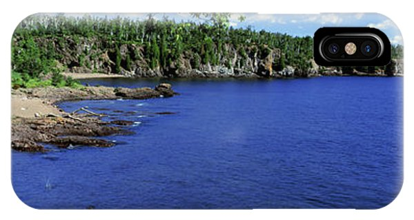 Lake Superior iPhone Case - Lake View, Lake Superior, Duluth by Panoramic Images