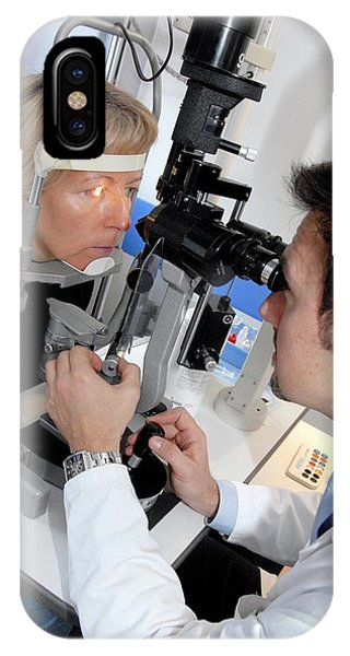 Laser Eye Surgery Aftercare Phone Case by Aj Photo/science Photo Library