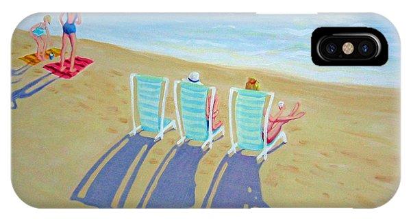Sunset On Beach - Last Rays IPhone Case