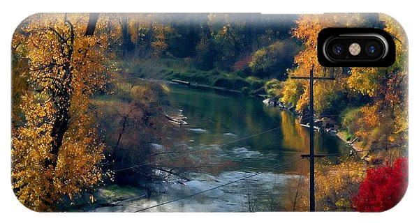 Leavenworth Fall IPhone Case