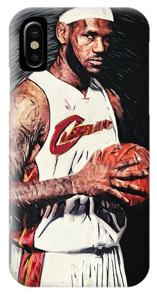 Pastel Pencil iPhone Case - Lebron James by Zapista Zapista