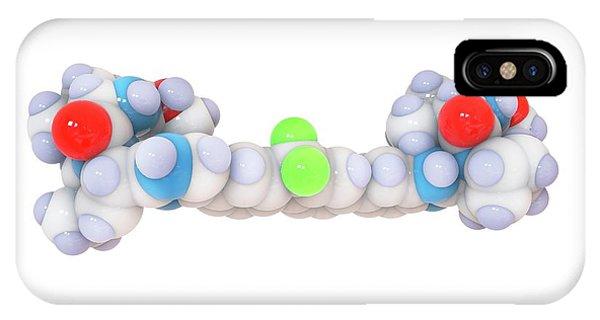 Ledipasvir Hepatitis Drug Molecule Phone Case by Ramon Andrade 3dciencia