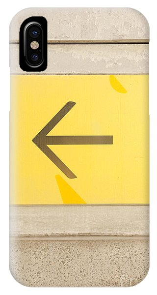 Cement iPhone Case - Left Direction Wall by Jorgo Photography - Wall Art Gallery