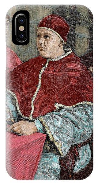 Leo X (1475-1521 IPhone Case
