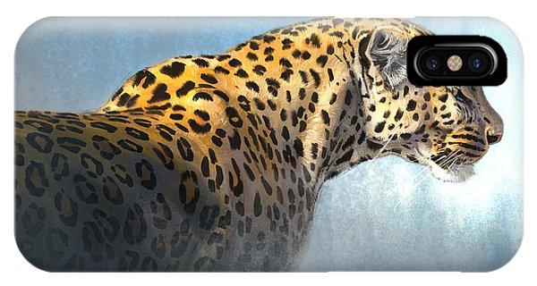 Leopard iPhone Case - Leopard by Aaron Blaise