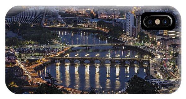 Lerez River Pontevedra Galicia Spain IPhone Case