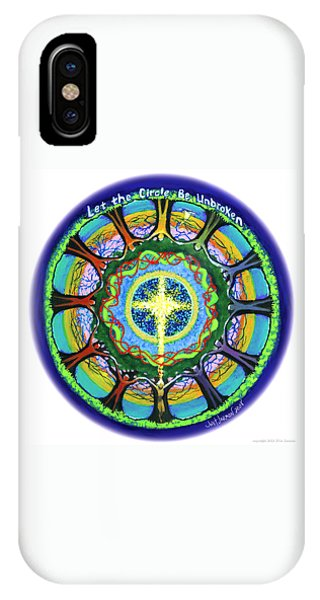 Let The Circle Be Unbroken IPhone Case