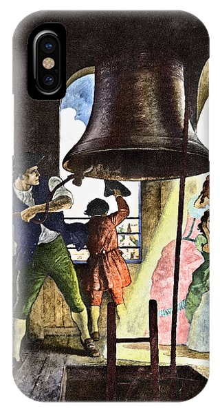 Liberty Bell, 1776 IPhone Case