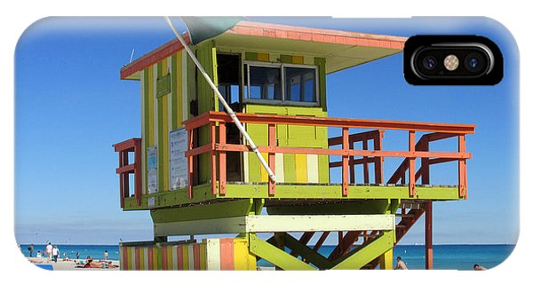 Lifeguard Stand Phone Case by Rosie Brown