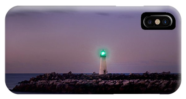 Lighthouse Santa Cruz IPhone Case
