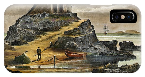 Lindisfarne 2 IPhone Case