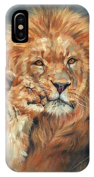 Lion Love IPhone Case