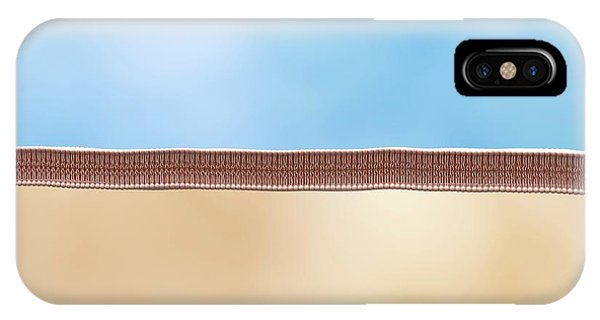 Lipid Membrane Phone Case by Maurizio De Angelis