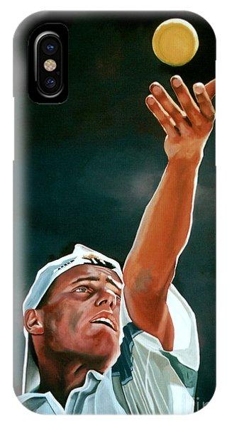 Australia iPhone Case - Lleyton Hewitt by Paul Meijering