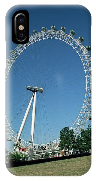 London Eye iPhone Case - London Eye by Andy Williams/science Photo Library