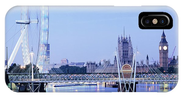 London Eye Phone Case by Mark Thomas/science Photo Library