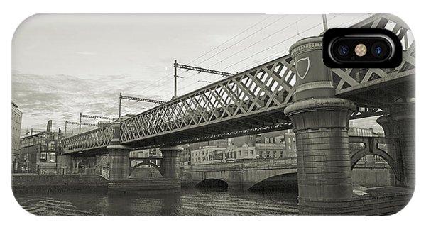 Loopline Bridge Dublin Ireland IPhone Case