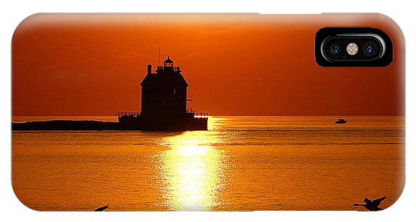 Lorain Harbor Phone Case by Robert Bodnar