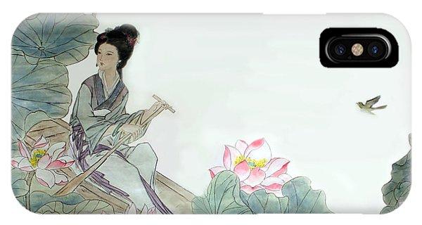 Lotus Pond IPhone Case